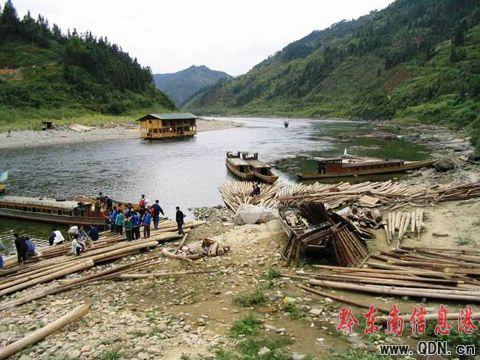 三板溪水电站的修建,一条河,一座山,一群人,这一切都成了记忆.