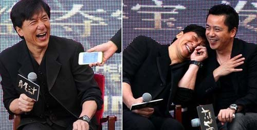 成龙撒娇短信遭曝光   《十二生肖》是华谊兄弟和成龙大哥的第三图片