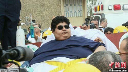 沙特610公斤男子_沙特610公斤男子惊动国王国王下令医院助其减肥-国际-黔东南