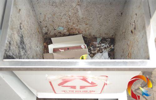 凯里街头分类标志被忽略 请给垃圾正确 安家