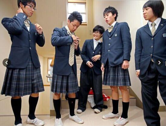 日本男人穿衣图片