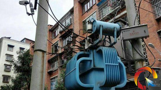 10千伏变压器避雷器上