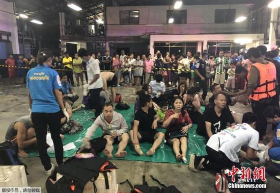 泰国普吉岛沉船事故1人溺亡 失踪人员含50名中国公民