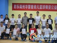 黔(qian)東南州華蒙星幼兒籃球師資公益培訓在(zai)凱(kai)里啟(qi)動