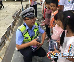 鎮遠交警營造良好交通環境 喜(xi)迎建國70周年(nian)大慶