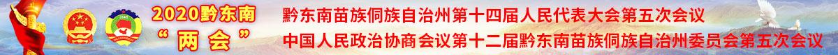 """2020黔東南""""兩會(hui)"""""""
